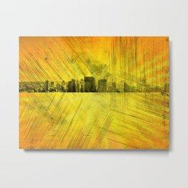 Partial Skyline Metal Print