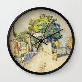Vincent Van Gogh - Le Moulin de la Galette Wall Clock