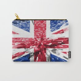 Extruded Flag of the United Kingdom Carry-All Pouch