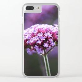 Verbena Clear iPhone Case