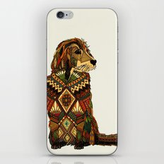 Golden Retriever ivory iPhone & iPod Skin
