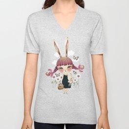 Sugar Bunny Unisex V-Neck