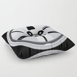 Wheel Design Retro JDM Racing Dish Floor Pillow