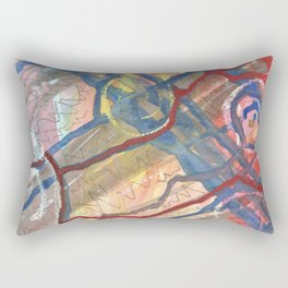 Abstract Ways Rectangular Pillow