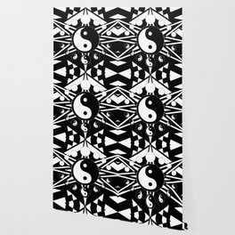 Yin Yang Orbit Wallpaper
