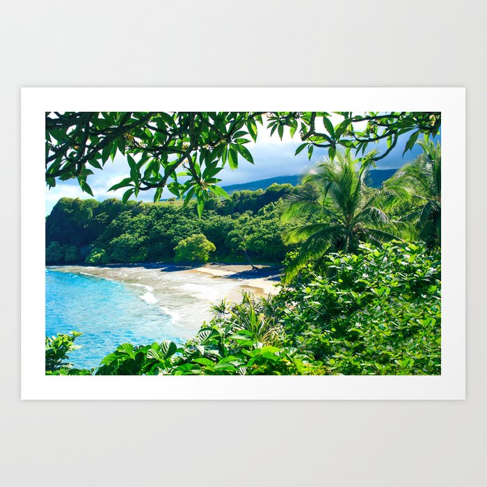 Hamoa Beach Hana Maui Hawaii Kunstdrucke