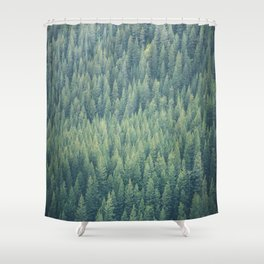 Forest Immersion Shower Curtain