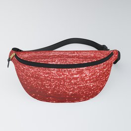 Sparkling Red Water Fanny Pack