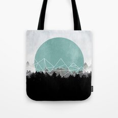 Woods Abstract 2 Tote Bag