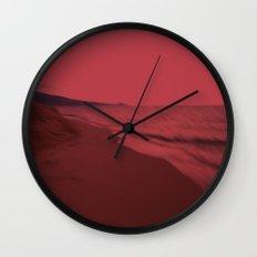 Dreamscape red Wall Clock