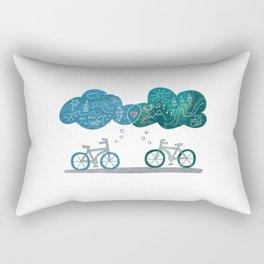 Weekend Plans Rectangular Pillow