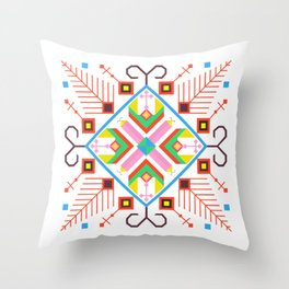 Roots of Bulgaria Throw Pillow