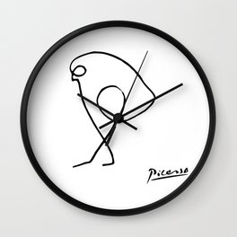 Pablo Picasso The Sparrow (Bird of Prey) T Shirt, Artwork Sketch Reproduction, tshirt, tee, jersey, Wall Clock