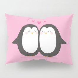 PENGUIN LOVE - VALENTINE'S DAY Pillow Sham