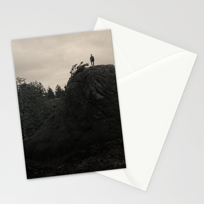 Up In the Woods, Down in My Mind Stationery Cards
