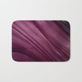 Purple Waves Bath Mat