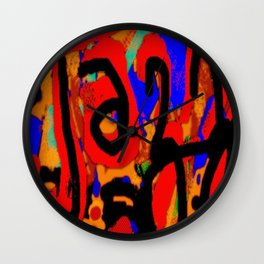 Jazz on the Street Wall Clock