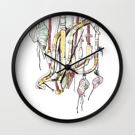 Nepeta Fritschiana Wall Clock