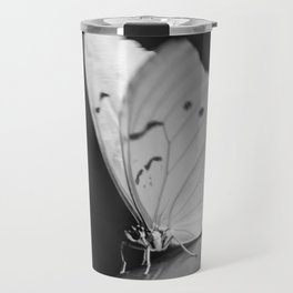 Papillon B/W Travel Mug