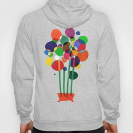 Happy flowers in the vase Hoody