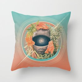 Stardust Riders Throw Pillow