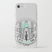 tim burton iPhone & iPod Cases featuring Beetle Juice [Betelgeuse, Michael Keaton, Tim Burton] by Vyles