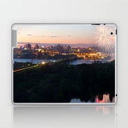 City Day closing, 121 years to Novosibirsk Laptop & iPad Skin