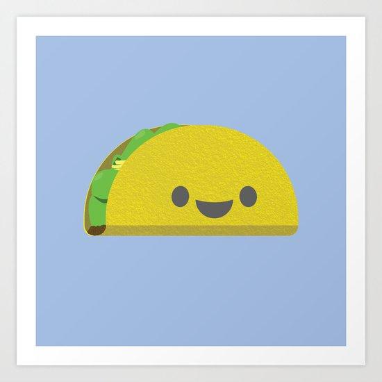 Taco! Art Print