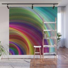 Vortex of colors Wall Mural
