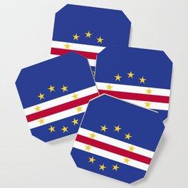 Cape Verde flag emblem Coaster