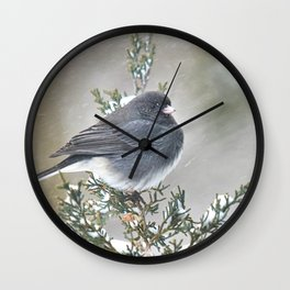 Tip Top Junco Wall Clock