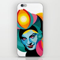 goddess iPhone & iPod Skins featuring Goddess by Alvaro Tapia Hidalgo