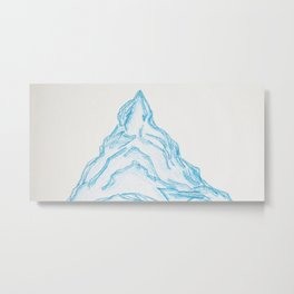 Mountain Madness, No. 6 Metal Print