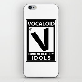 Vocaloid Parody Inspired Shirt iPhone Skin