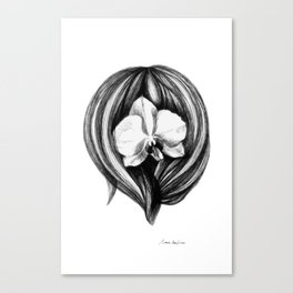 Orchidea Canvas Print