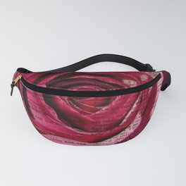 Paper Roses Fanny Pack