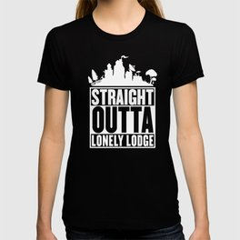 STRAIGHT OUTTA LONELY LODGE T-Shirt T-shirt