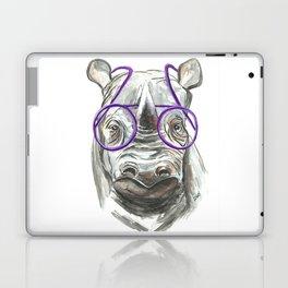 Molly the Rhinoceros Laptop & iPad Skin