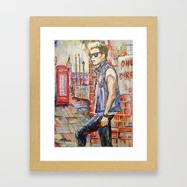 Niall Framed Art Print