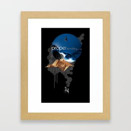 Proper Shredding Framed Art Print