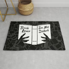 Book Lover, Do Not Disturb Rug