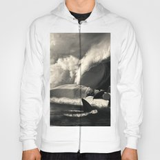 Sleeping with Sharks Black and White Hoody