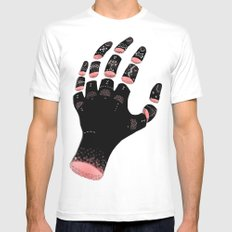 Extend MEDIUM White Mens Fitted Tee