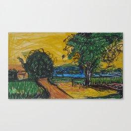 Inspired by Van Canvas Print