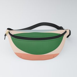 Abstraction_BALANCE_Minimalism_Color_Art_001 Fanny Pack
