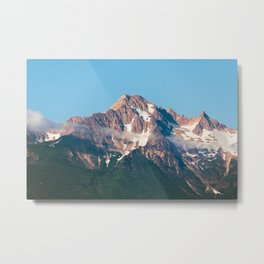 Cascade Mountain Clouds Metal Print