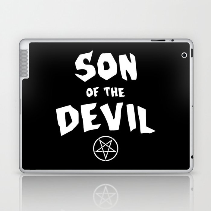 Son of the Devil Laptop & iPad Skin