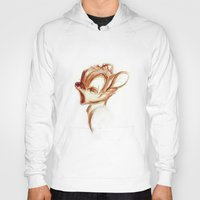 bambi Hoodies featuring bambi by starlightcafe_