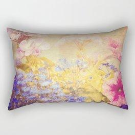 Small Garden Rectangular Pillow