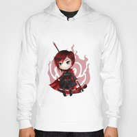 ruby Hoodies featuring Ruby by Louiology